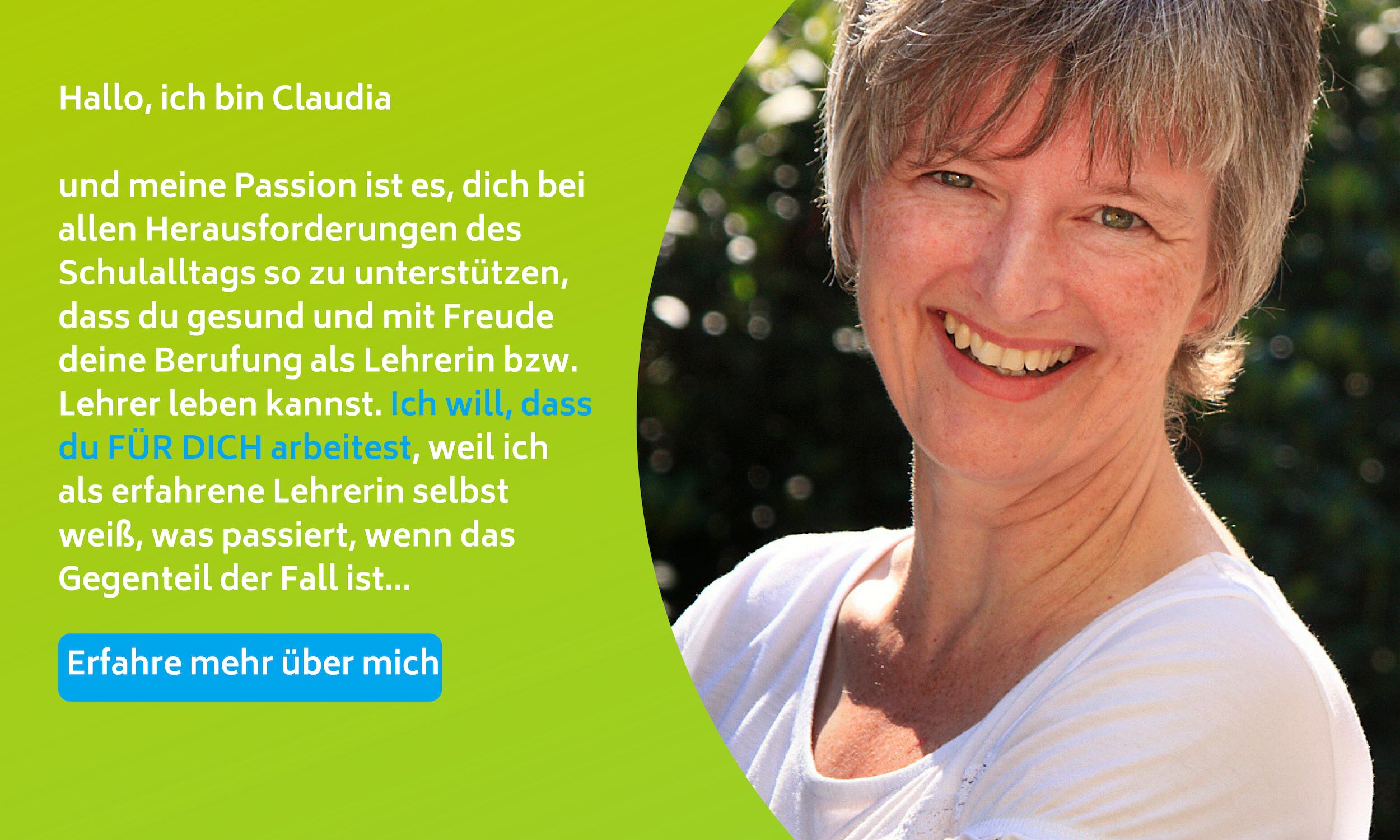 Claudia Rehder - meine Passion als erfahrene Lehrerin