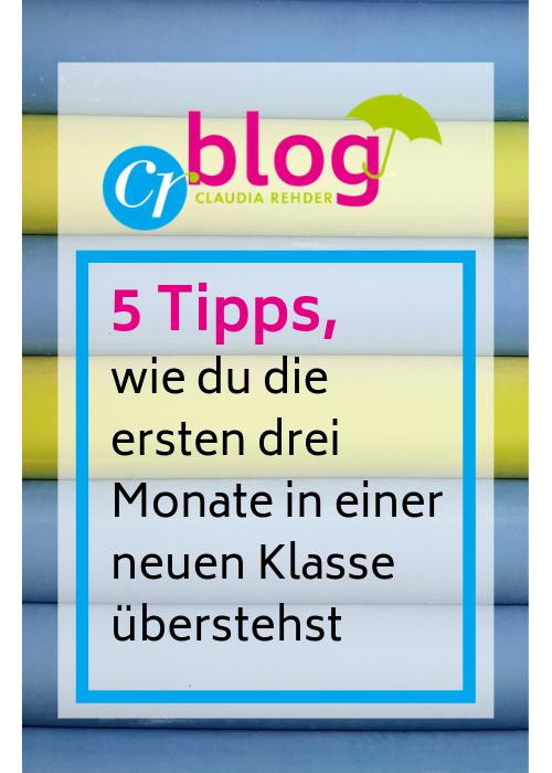 Blog-Beitrag - Fünf Tipps für die ersten drei Monate in einer neuen Klasse